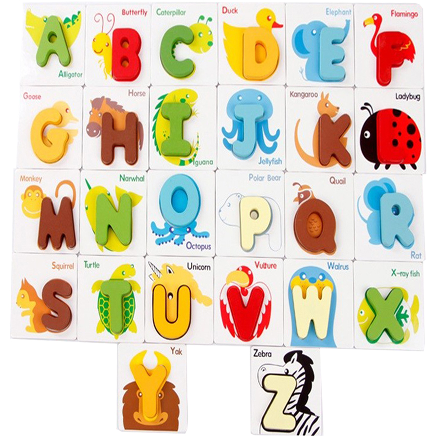 early-education-wooden-card