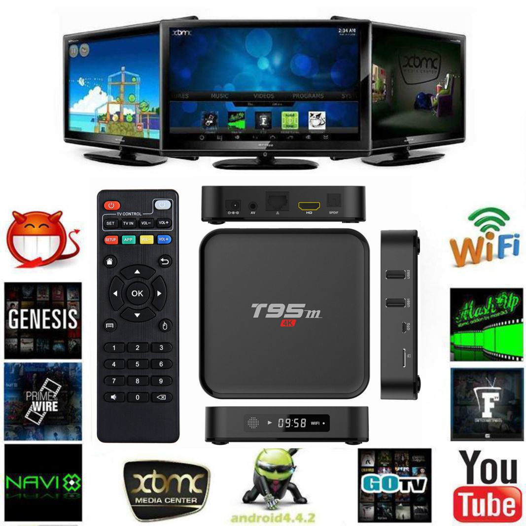 tv box t95m how to use