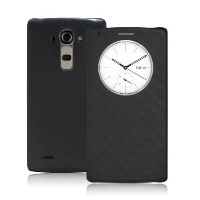 Quick-Circle-LG-G4-Sensor-Flip-Cover---Black