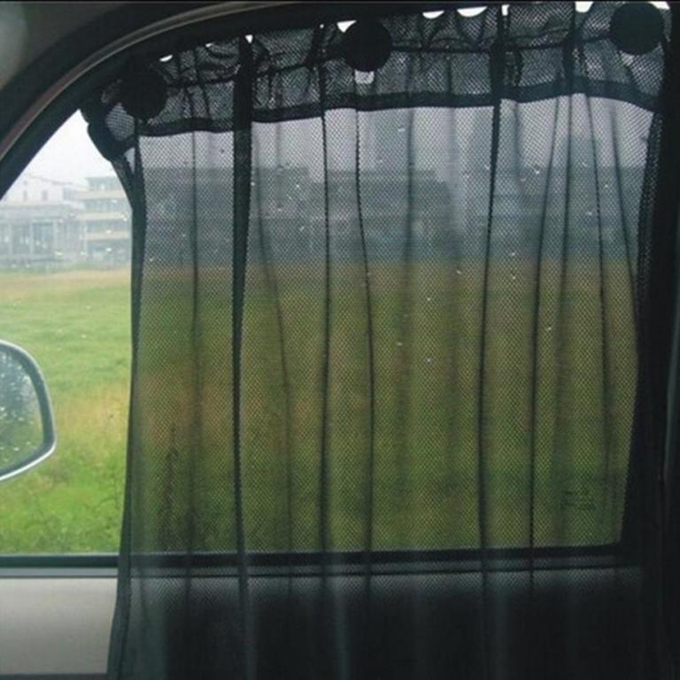 black-car-sun-shade-side-window-curtain-mesh-fabric-ats-0004