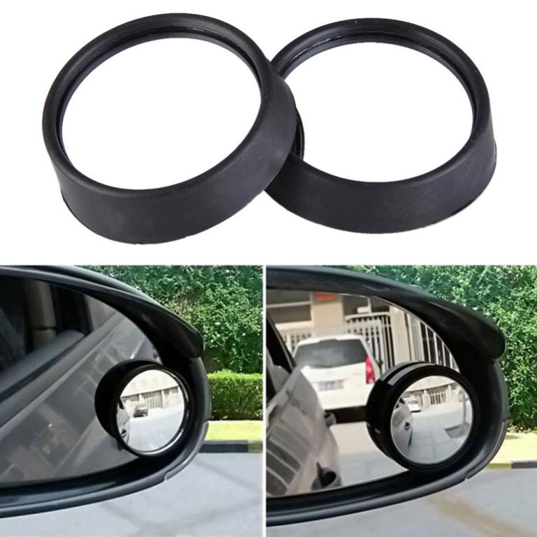 Universal Car Rear view Mirror Side Wide Angle Round Convex