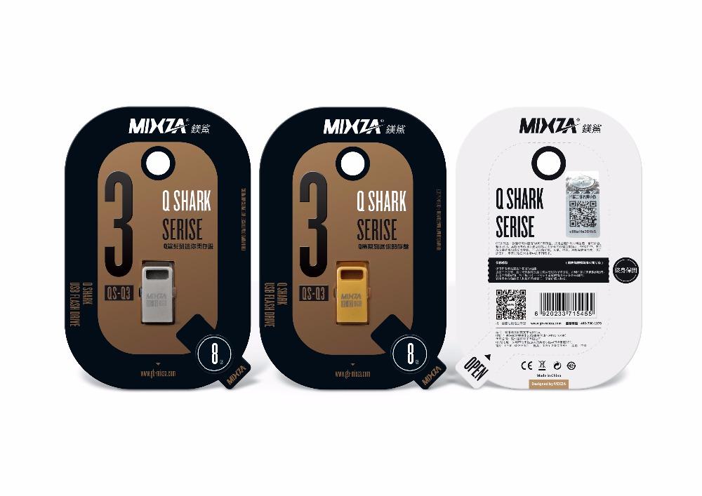 Mini USB Flash Drive USB Pen drive MIXZA QS-Q3 8GB