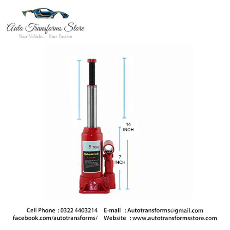Hydraulic bottle lifting jack 5 Ton Car sedan ATS-0038