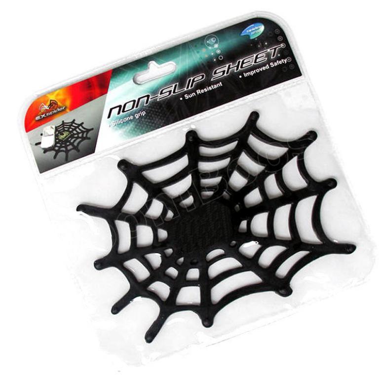 Anti Slip Mat Silicone Grip Pad Sticky Spider Web Anti Skid