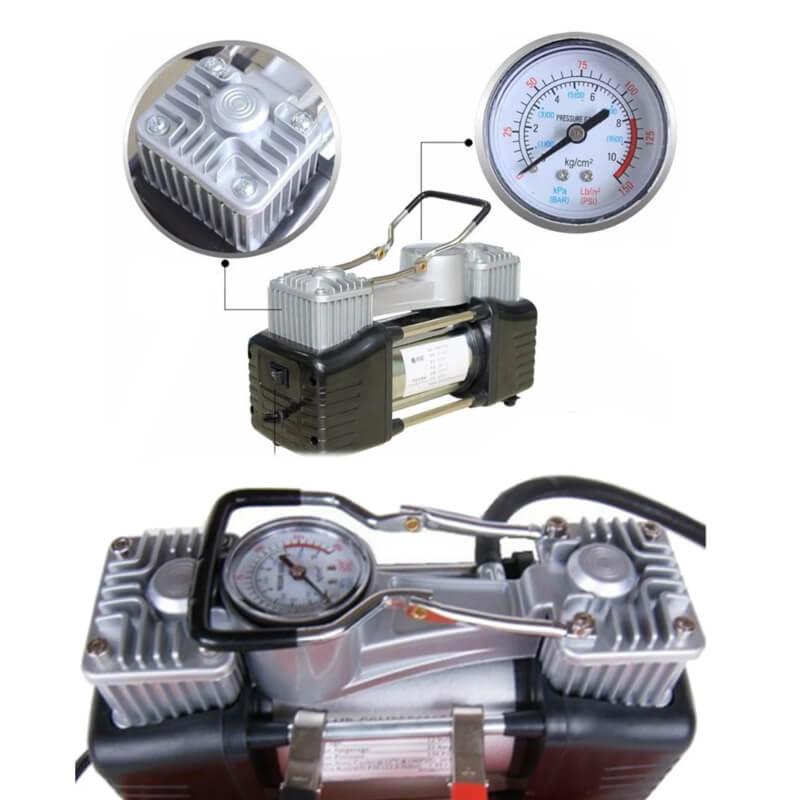 2 Cylinder Heavy Duty Air Compressor