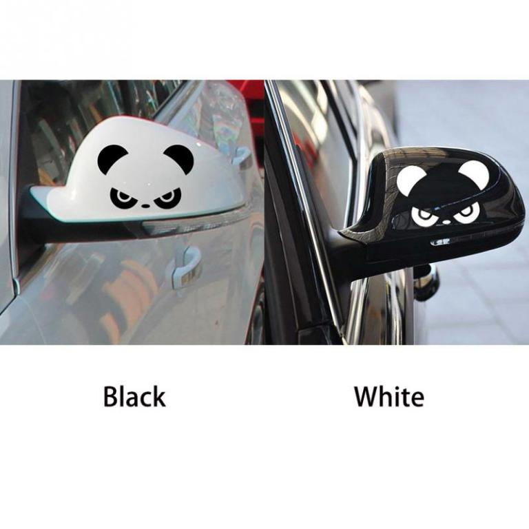Rear View Mirror Sticker Car 2 pcs