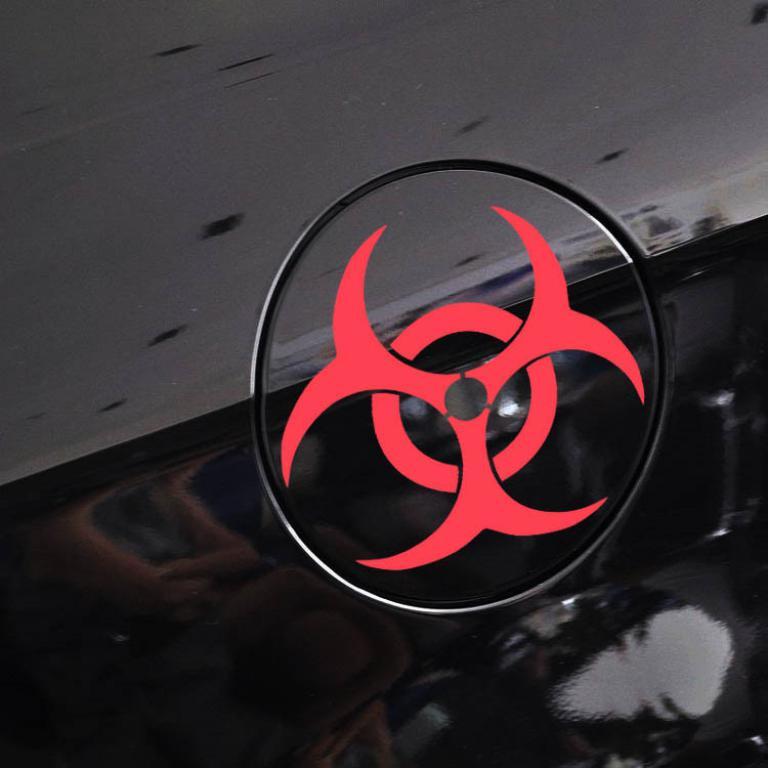 Resident Evil Corporation Umbrella Sticker