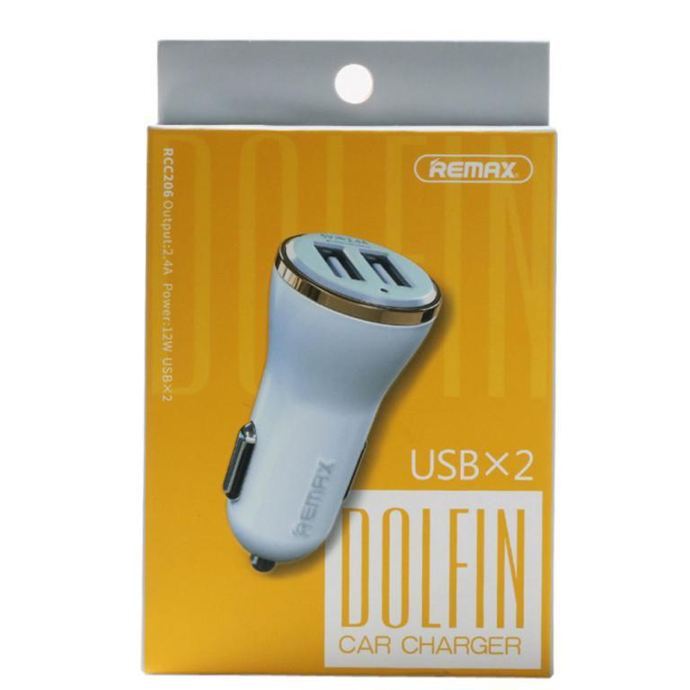 Car Usb Socket REMAX Double USB Ports 2.4A Car Charger