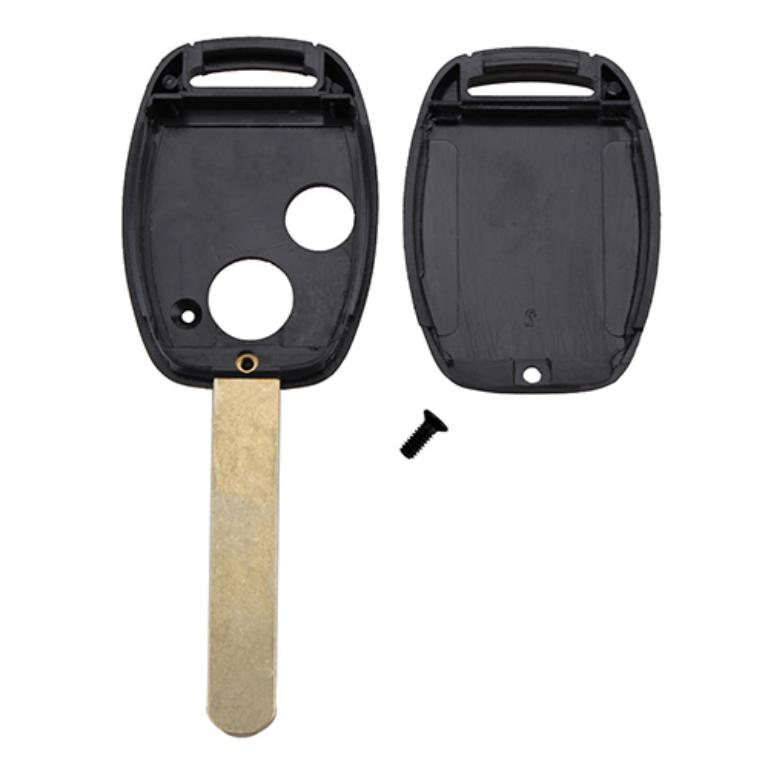 Remote Key Fob Case 2 Buttons ABS Shell - Honda Replacement