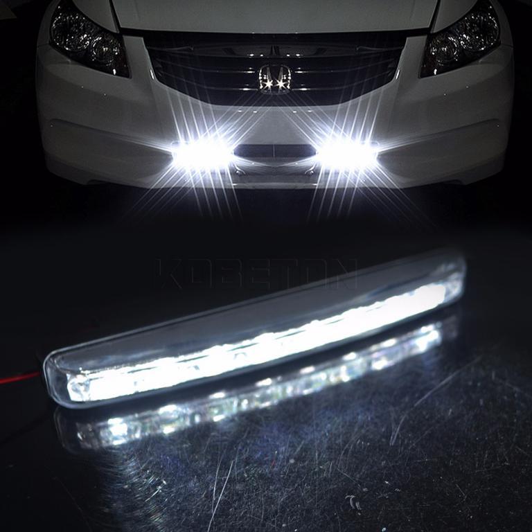 LED Car Daytime Driving Running Light Universal