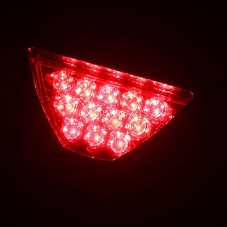 Tail Bumper Light, LED Rear Fog Lamp Light Auto Red