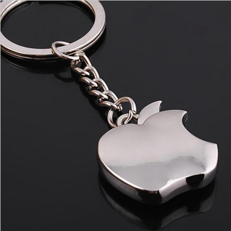 Apple-Key-Chain-Metal-Creative-Key-Chain-ats-0159
