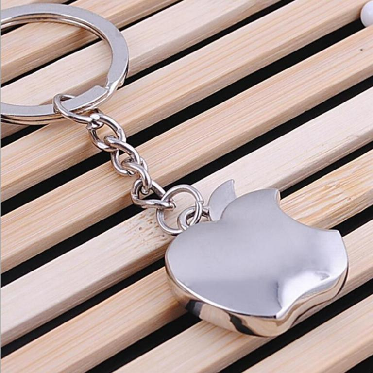 Apple Key Chain Metal Creative Key Chain