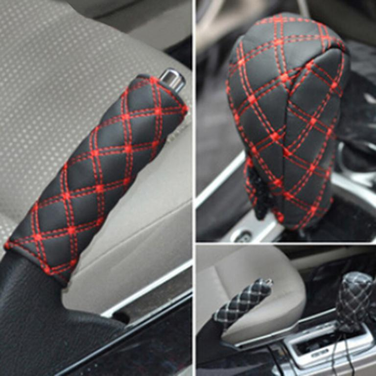 leather-hand-brake-shift-knob-cover-gear-case-ats-0163