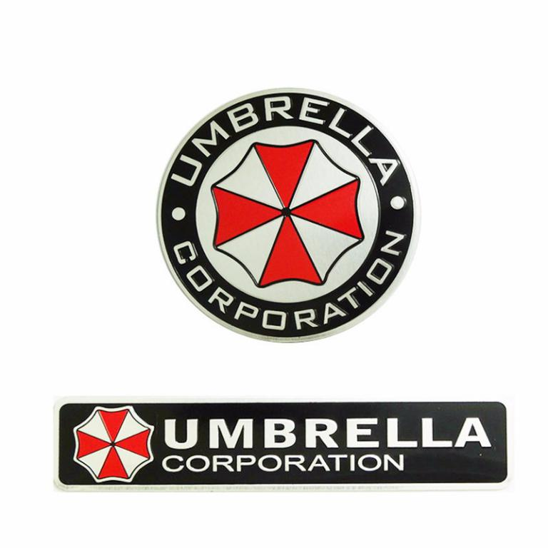 3d-aluminum-umbrella-corporation-car-logo-ats-0187
