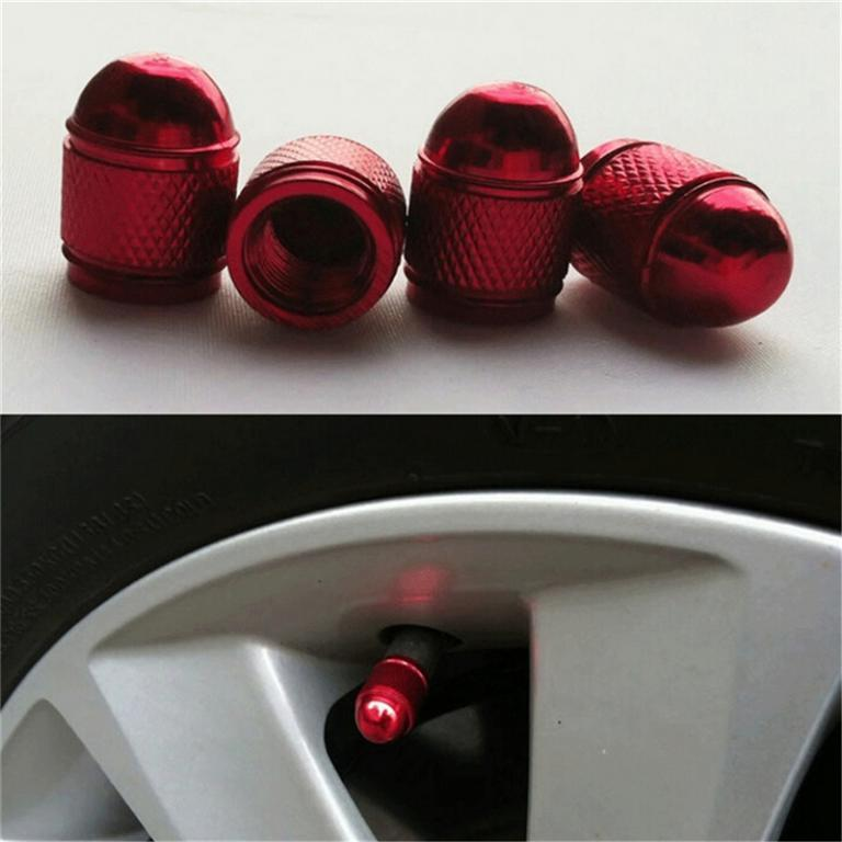 Car Styling Aluminum Tire Rim Valve Wheel Stem Caps