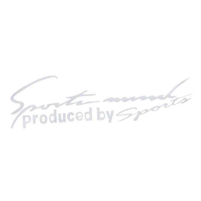 02 Pcs SPORTS MIND Logo Car Stickers ATS-0195