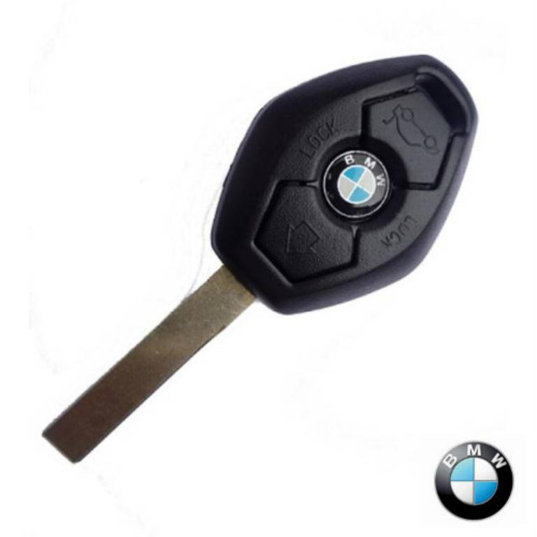 3 Button Key Shell Case Cover Fit for BMW 3 5 Series