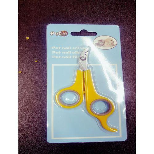 Pets Nail Scissor - Yellow