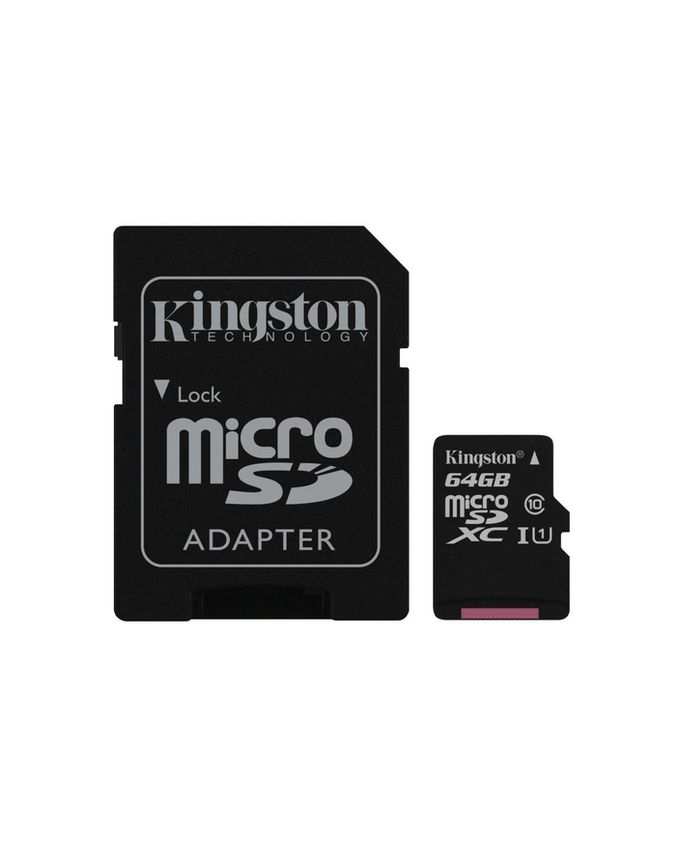 Kingston MICRO SD 64GB Memory Card