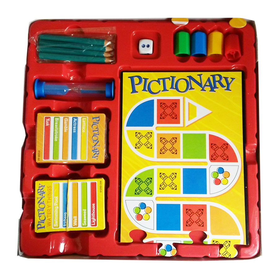 Pictionary - 2 Level of Clues - 0125D