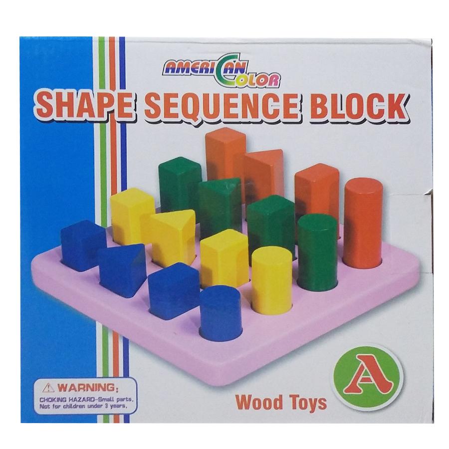 Shape Sequence Block