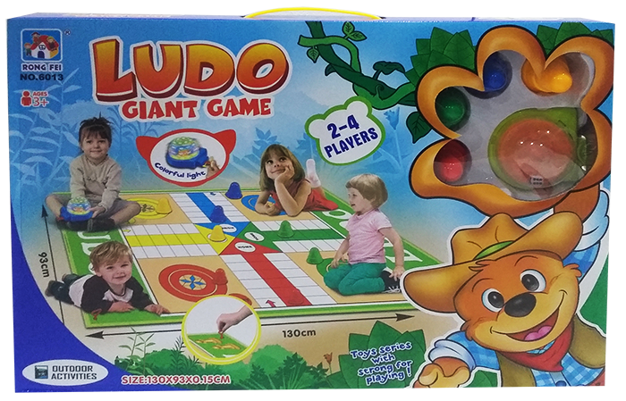 Ludo Giant Game - 6013 - 93 x 130 cm