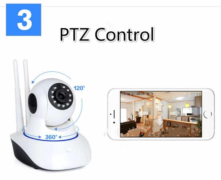 Wireless IP Wifi Camera