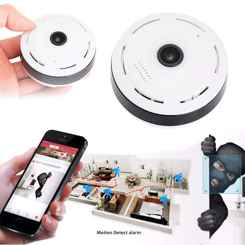 Panoramic Fisheye CCTV WiFi Camera