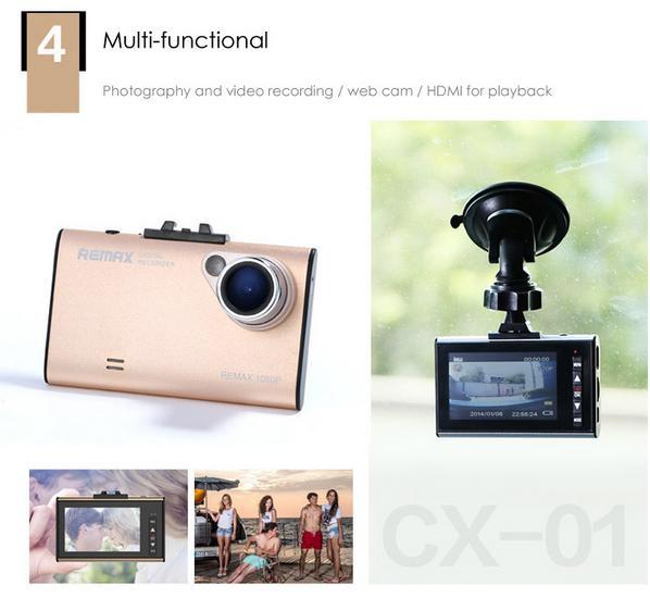Remax Car Dashboard 1080P Camera