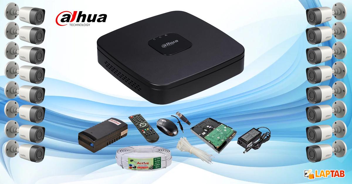 Dahua CCTV Cam with 16 Cameras