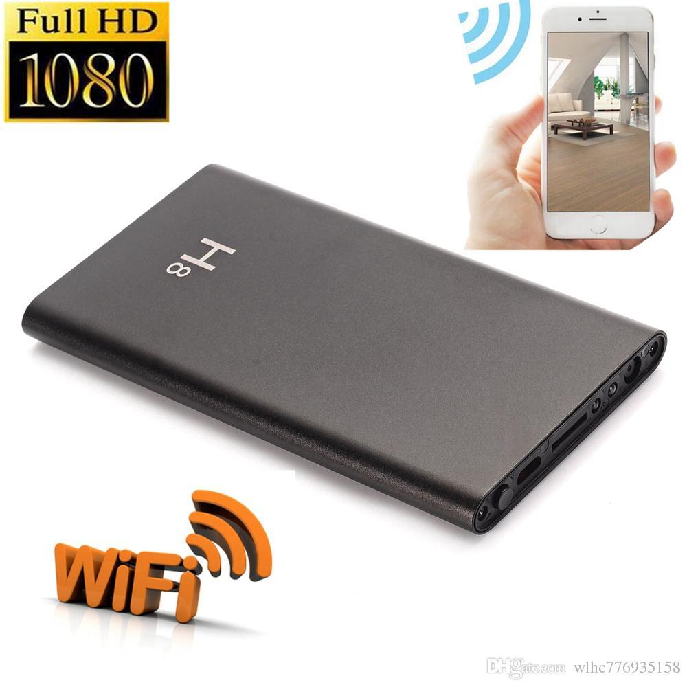 H8 HD 1080P Night Vision Hidden WIFI Power Bank Camera 5000mAh