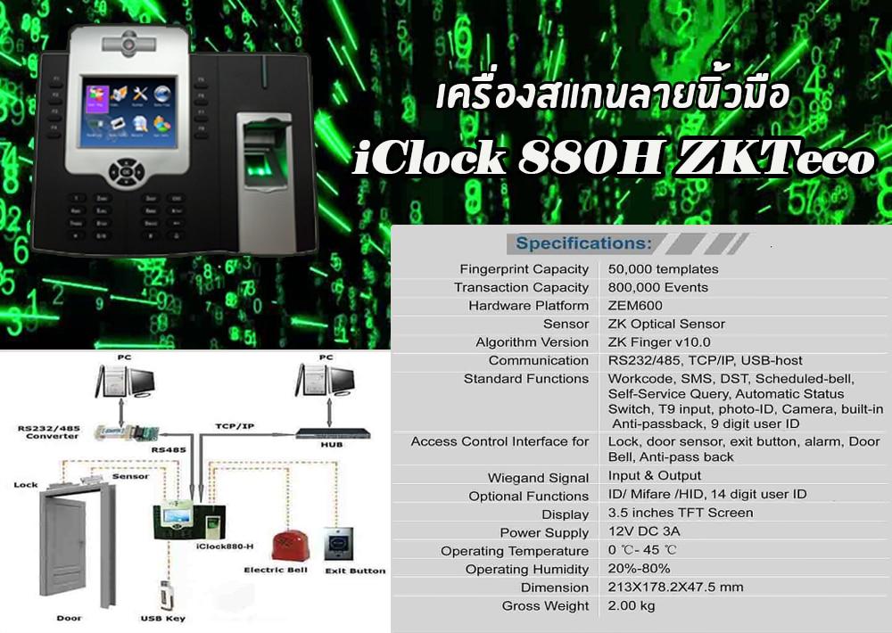 iClock880h