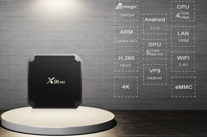 X96 Mini Smart Android TV Box