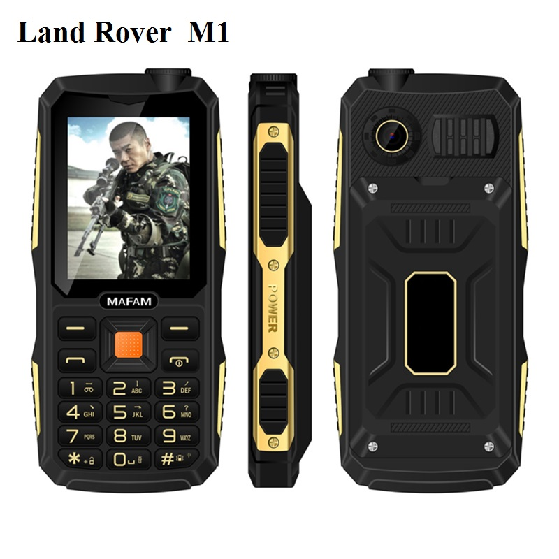 Commando Mobile with builtin Powerbank