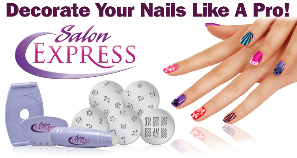 Buy Salon Express Nail Art Kit In Pakistan Laptab