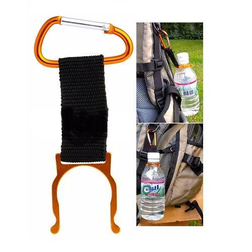 Water Bottle Buckle Holder Clip - Orange