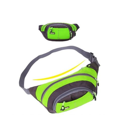 Sports-Waist-Bag-For-Travel-Green