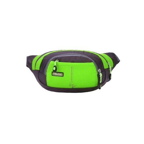 Sports Waist Bag For Travel - Green