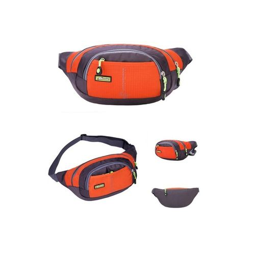 Sports Waist Bag For Travel - Red