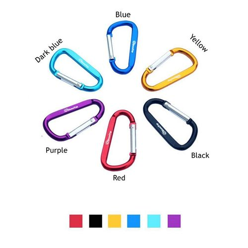 Pack of 6 - Metal Hook Clips - Multicolor