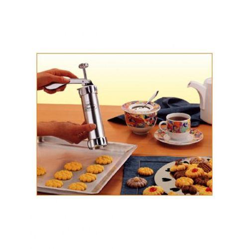 10-Shape-Biscuit-Cookie-Press-Machine-Silver