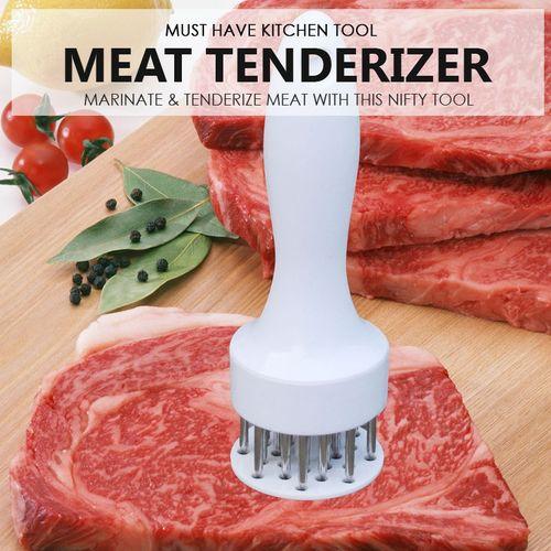 Professional-Stainless-Steel-Needle-Meat-Tenderizer-Steak-Cookin