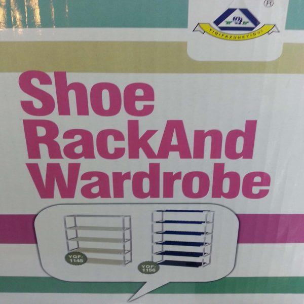 4/5 Layer Shoe Rack and Wardrobe Rack