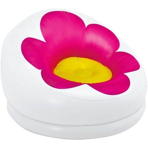 Armchair-Intex-flower-Comfortable-Relax-able-Sofa-White