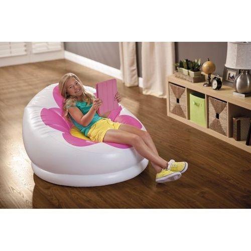 Armchair Intex flower 68574 Comfortable Relax able Sofa