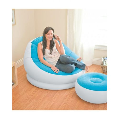 Inflatable Cafe Chaise chair - Multicolor