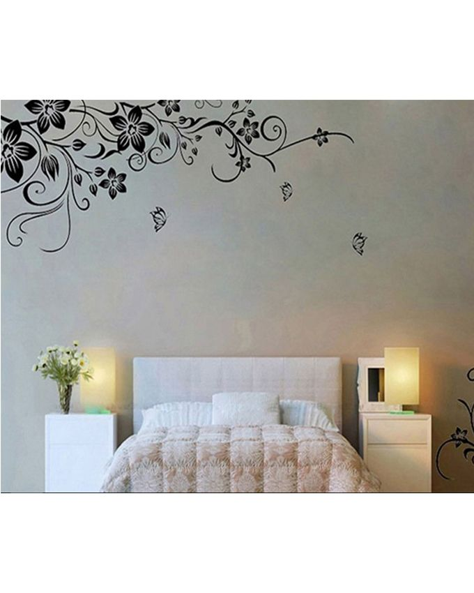 Removable Vinyl Pegatinas De Pared Wall Sticker - Black