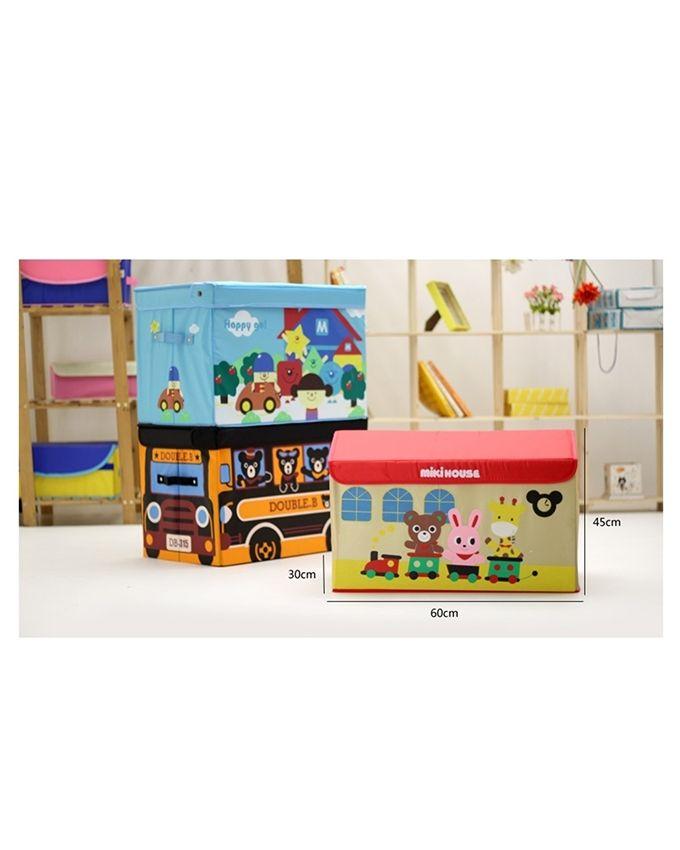 Cartoon Toy Storage Box - Multicolor