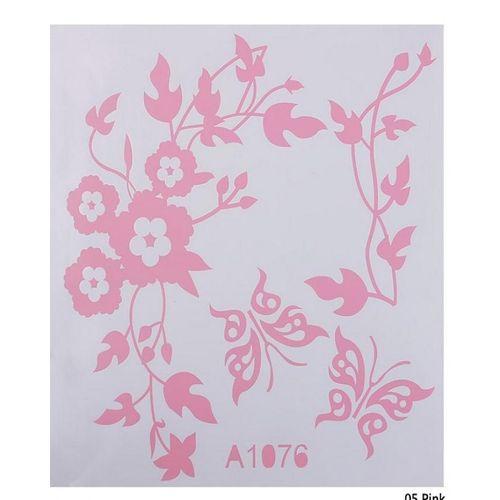 Bathroom Toilet Sticker - Pink